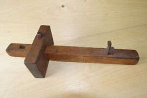 Vintage-Large-Carpenters-Marking-Guage-inv-17