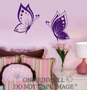 Great Image Is Loading Butterflies Wall Decal Baby Kids Room Nursery 1