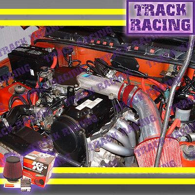 BLACK BLUE 1989-1994//89-94 GEO TRACKER//SUZUKI SIDEKICK 1.6 1.6L AIR INTAKE KIT
