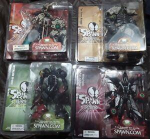 Spawn Reborn Série 2 Lot De 4