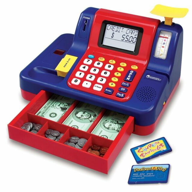 Learning Resources Pretend /& Play Calculator Cash Register Standard Packaging