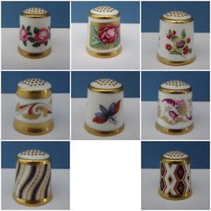 Vintage-Royal-Crown-Derby-Collectors-Thimble-The-Historical-Collection-c1985