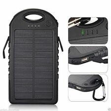 Portable Solar Charger 12000mAh Battery Power Bank For Smart Phone Tablet 2USB