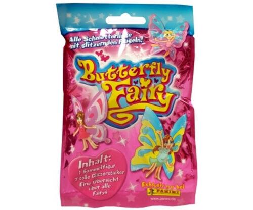 10 Stück Panini Butterfly Fairy  Schmetterlinge  zum Sammeln  in Sammeltüte