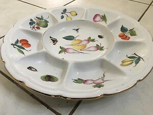 Antique Herend Porcelain Serving Plate