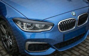 Parpados-BMW-F20-serie-1-faros-de-plastico-ABS-SPOILER-Cejas-ogonlock-Tapa