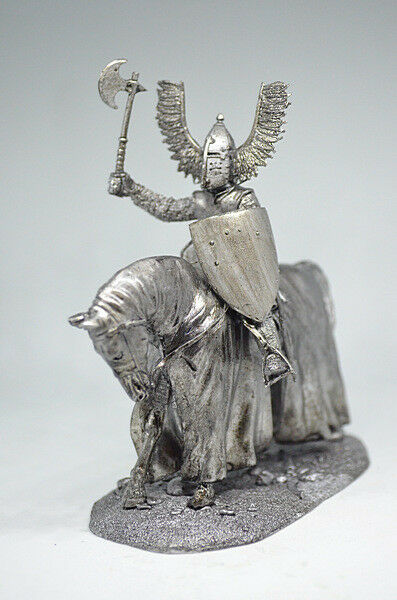 Tin soldier, figure. The Teutonic Knight 54 mm