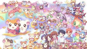 Anime Hamtaro Wallpaper Poster 24 x 14 inches