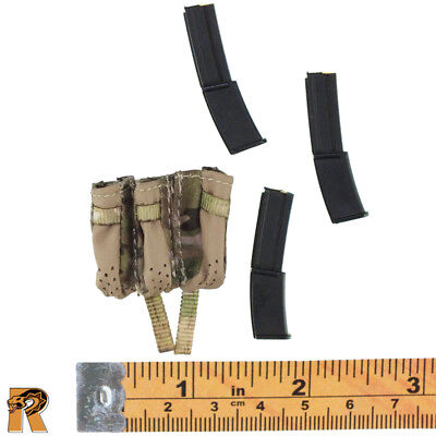 HK Pistol w// Holster 1//6 Scale Bear SEAL Six Mini Times Action Figures