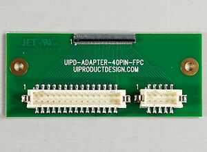Details about 40 pin LVDS MIPI TFT LCD display converter adapter board  0 5mm FFC FPC to 2 0mm