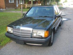 1991 Mercedes-Benz 190-Series 190E Sedan