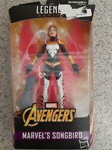 Avengers Marvel Legends Series 6-inch Marvel/'s Songbird New Free Shipping