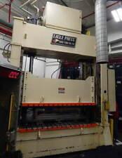 100 Ton Eagle Hydraulic Press 48 Stroke 50 Daylight Opening 98 X 48 T Slotte