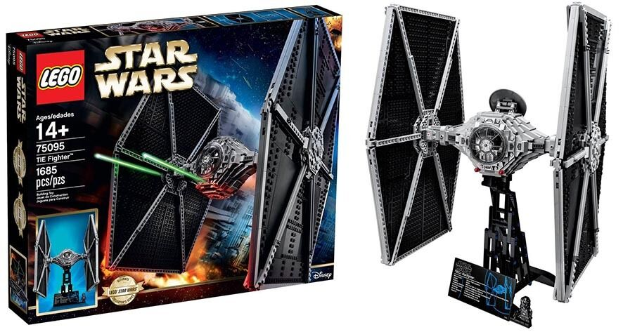 Retired LEGO Star Wars TIE Fighter 75095 (1685 Pieces) ULTIMATE COLLECTOR SERIES