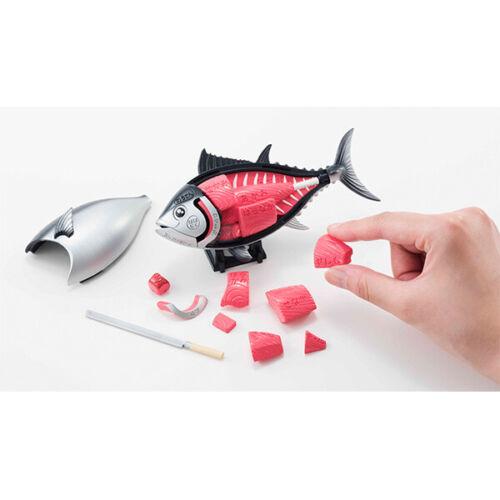 MegaHouse Thunnus Fish Anatomy 3D Puzzle Sashimi Organs Bones Cuts Game Japanese