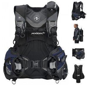 Aqualung-Axiom-i3-Tarierjacket-Seaquest-TAILLE-XS-a-XXL-Veste-de-Plongee-Bcd