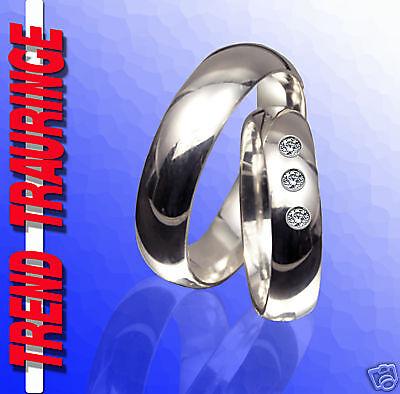2 Trauringe Verlobungsringe Ringe Silber &gravur T10-31