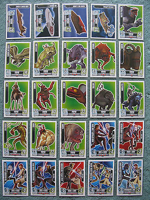 Star Wars Force Attax Series 3 Base Cards 151-180
