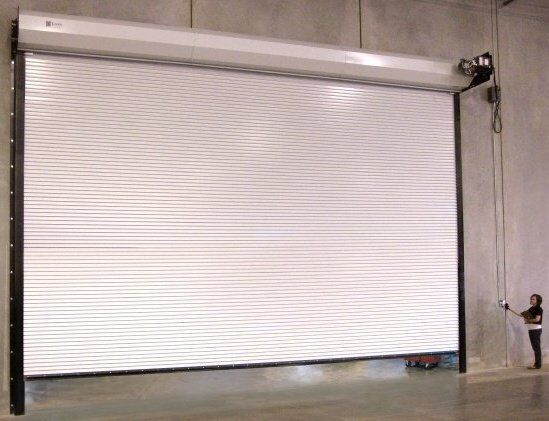 Durosteel Janus 10 X 12 1100 Series Commercial Wind Rated Roll Up Door Direct For Sale Online Ebay