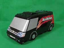 Micro Machines Van Camper Black Vintage Hasbro Playset