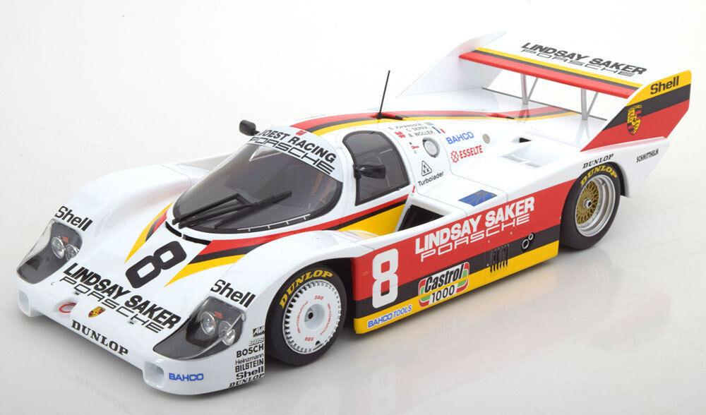 Minichamps Porsche 956k 1000km Kyalami 1983 Wollek   Serra   Johansson  8 1 18