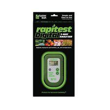 Luster Leaf Rapitest Electronic 3-Way Soil Analyzer - pH, Temperature, Fertility