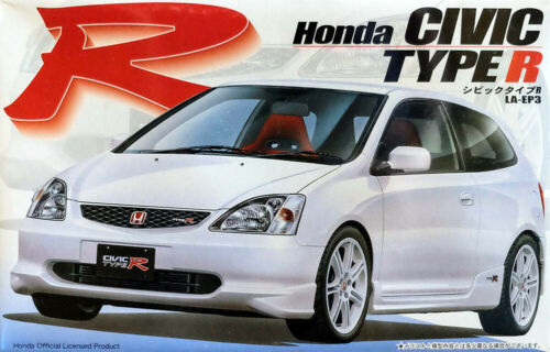 Honda Civic Type R in 1:24 Model Kit Bausatz Fujimi 035390