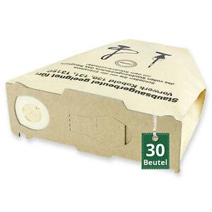 30 Staubsaugerbeutel Passend Für Vorwerk Kobold Vk 130 Und Vk 131 Fp Filtertüten Ebay