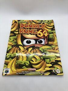Der offizielle N64 Spieleberater für Donkey Kong 64 - Lösungsbuch