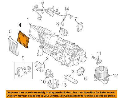 FORD OEM 11-14 Mustang 5.0L-V8 Evaporator Heater-Adjust Motor AR3Z19E616E