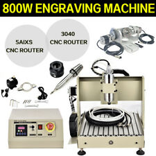 Cnc 5axis Router 3040 Engraver Usb Ball Screw Wood Copper Mill Engraving Machine