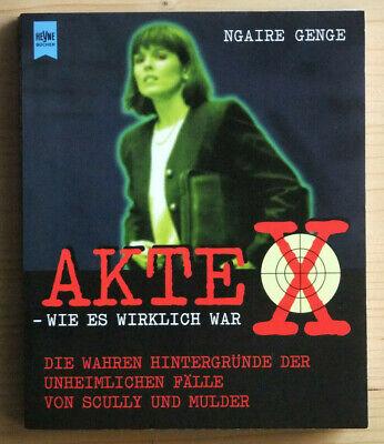 Neue Mode Buch Ngaire Genge Akte X - Wie Es Wirklich War X-files