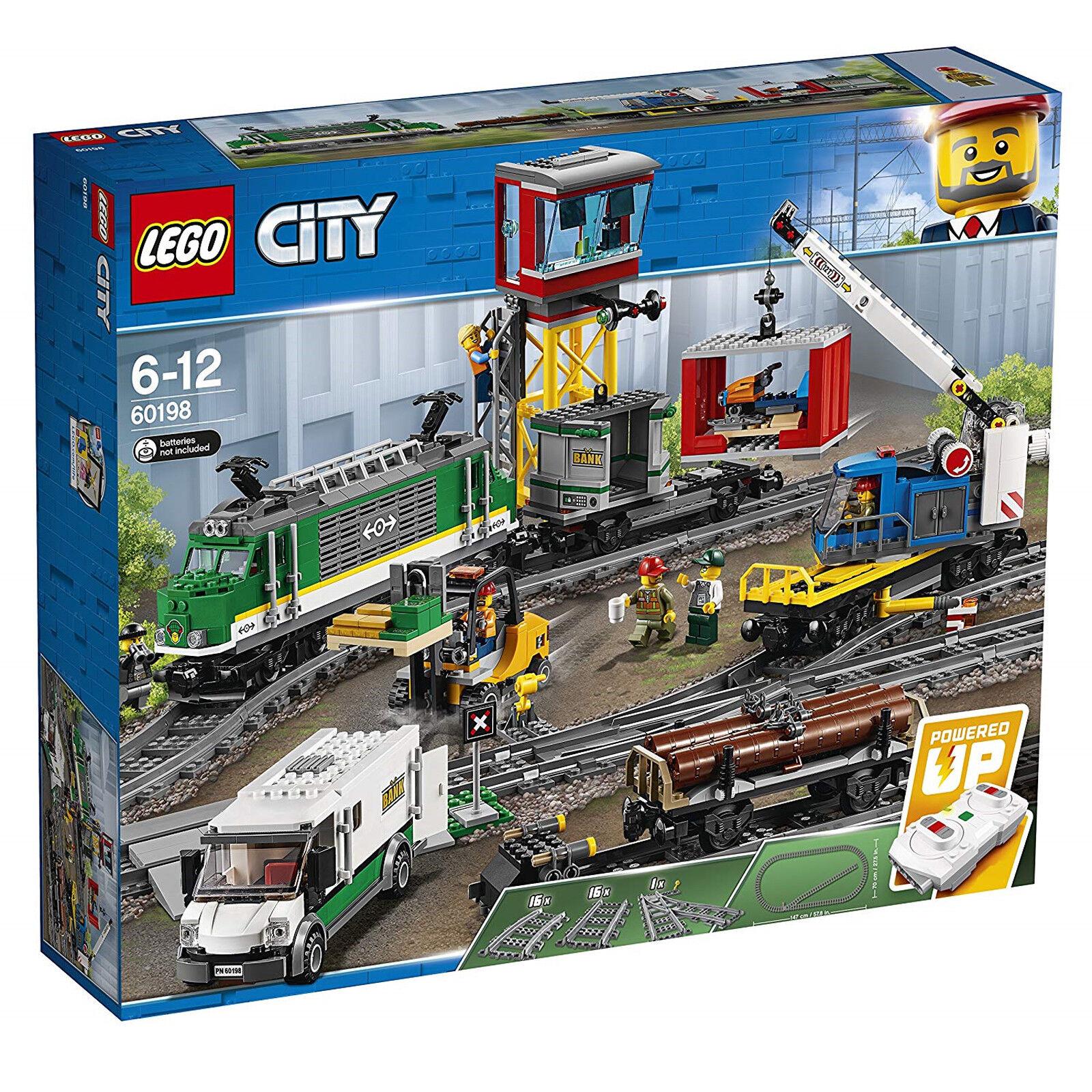 Nuevo Lego ciudad 60198 tren de carga