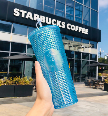 Starbucks 2020 China 24oz Red// gold// silver Studded Cold Water Cup Tumbler Gift