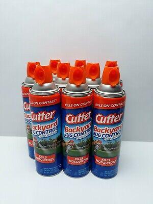 (9 - 16oz Cans) Cutter Backyard Bug Control Outdoor Fogger ...