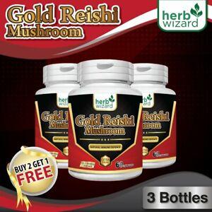 180-Fungo-Reishi-biologico-puro-estratto-potente-15-1-CAPSULE-Ganoderma-Ganoderma