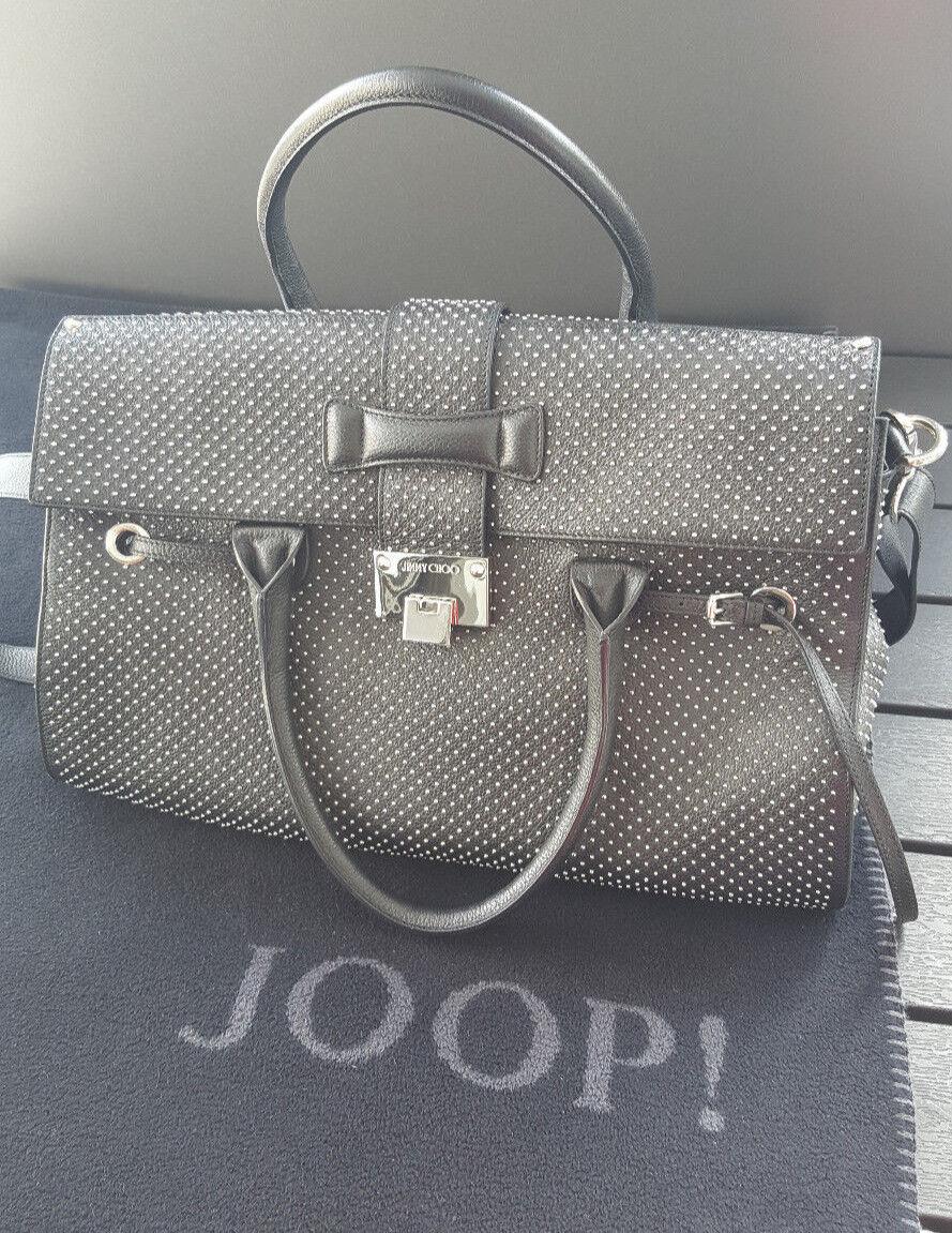 Tolle Original Jimmy Choo Handtasche mit Glitzer Glitzer Glitzer - top Zustand | Nutzen Sie Materialien voll aus  | Glücklicher Startpunkt  | Bekannt für seine hervorragende Qualität  579328