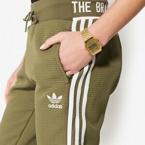 Image is loading ADIDAS-Womens-Tracksuit-Bottoms-Track-Pants-Olive-Green- 914d3a1a52