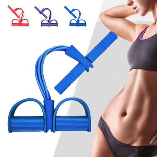 Fitness Sit Up Pull Rope Abdominal Exerciser Premium Multi-Function Tension Rope