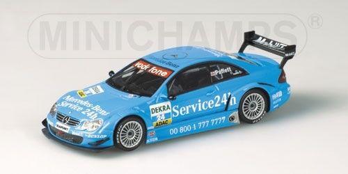Mercedes clk dtm - 2003 1 43 modell minichamps paffett.