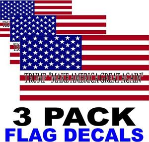 3-PACK-TRUMP-MAKE-AMERICA-GREAT-AGAIN-American-Flag-USA-Decal-STICKERS