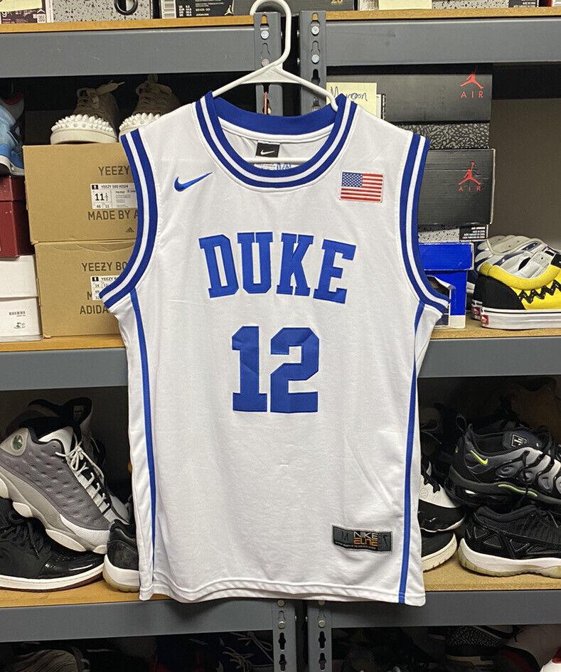 Duke Nike Justise Winslow Jersey #12 Size M