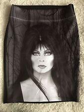 Kreepsville 666 Elvira Mistress Of The Dark Skirt Size S