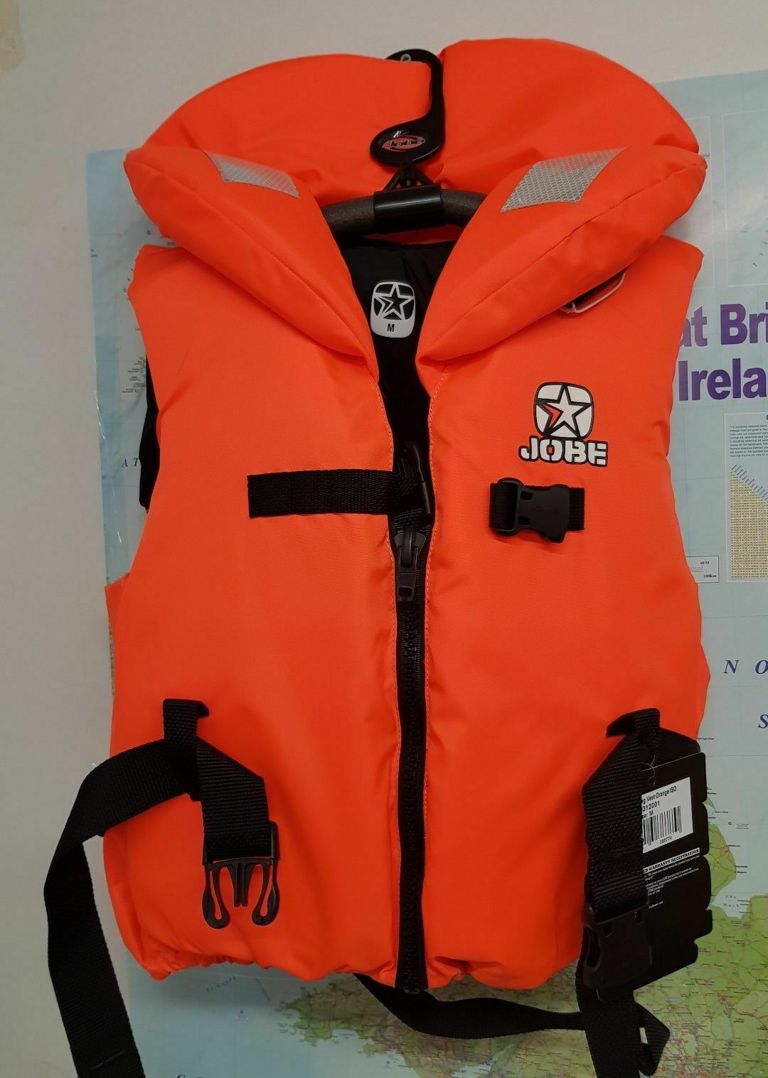 50N JOBE Outburst Vest size L   XL Kg 70+  Boating Kayak WaterSki Wakeboard