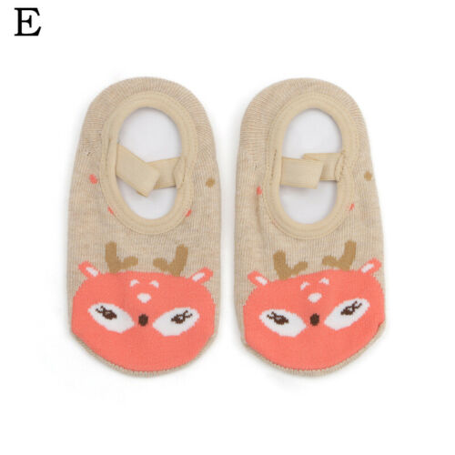 1-3Years Kids Baby Cartoon Floor Socks Cute Non-Slip Toddler Thicken Socks