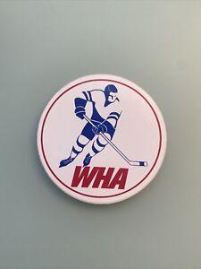 Vintage-World-Hockey-Association-WHA-Decal-Sticker-Emblem-Memorabilia-Souvenir
