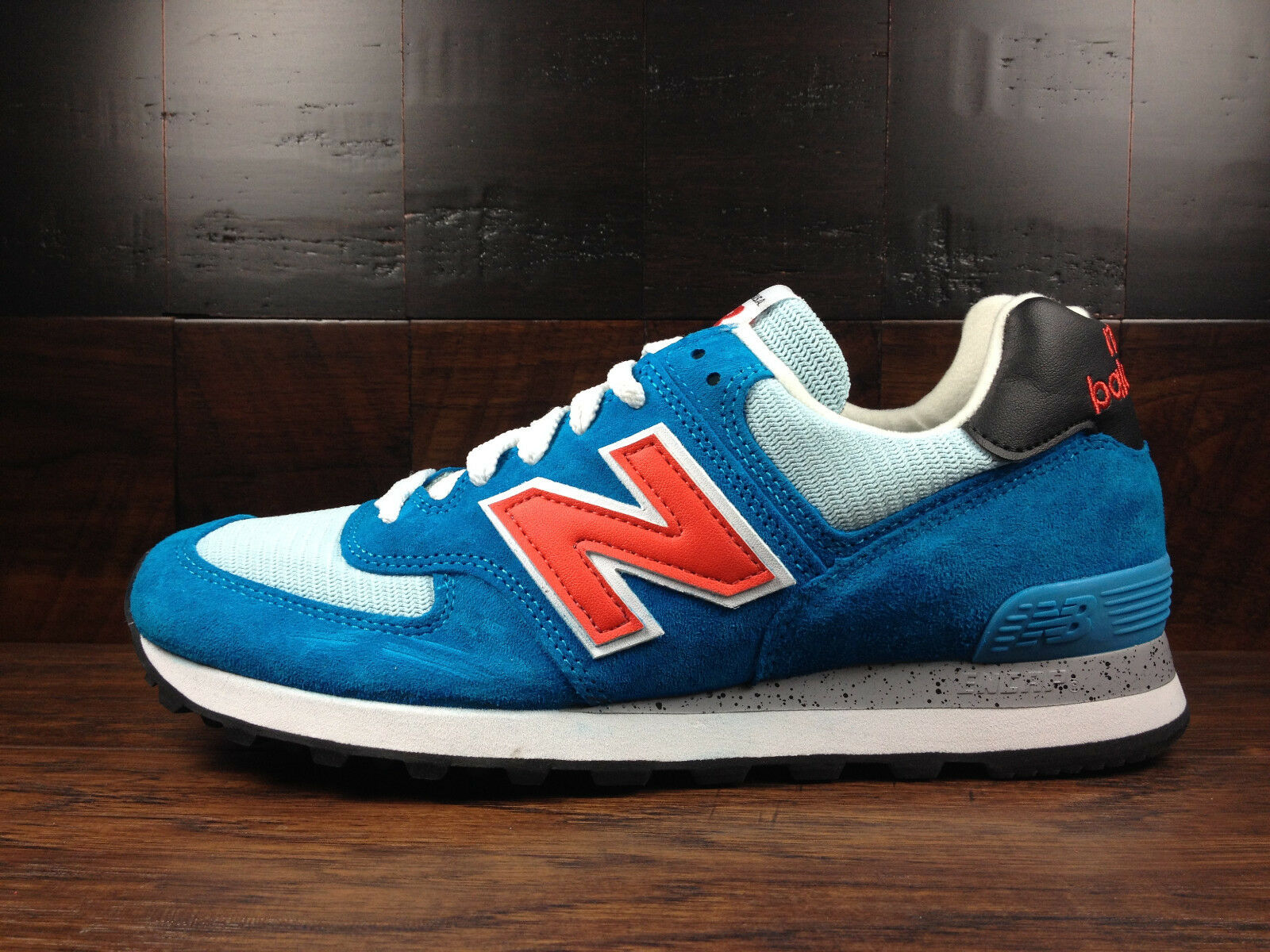 New Balance US574BP -USA 574 National Parks (bluee Teal Turquoise   Red) MENS