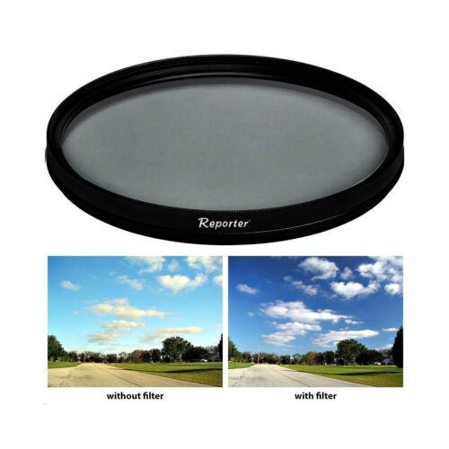 Filtro Polarizzatore Circolare 46mm per Panasonic Lumix G 25mm 1:1.4//1.7 NUOVO