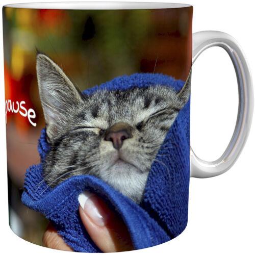 Katzen Kaffeebecher Kaffeetasse Geschenktasse