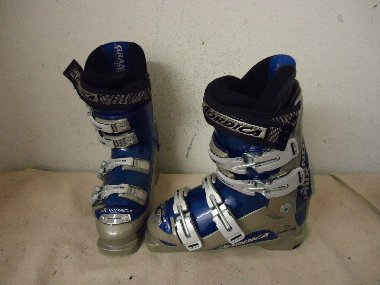 NORDICA Grand Prix Women's Ski Boots Size 24.5 Mondo